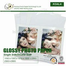 Inkjet photo paper, glossy photo paper, matte inkjet paper