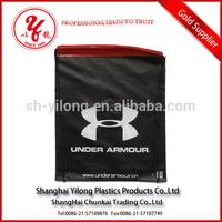 High quality printing customized colored drawstring bag plastic bag small nylon mesh drawstring bag
