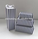 black&white stripe gift box