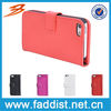 China Wholesale Flip leather case for apple iphone 5 with high quality