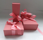 kraft paper box- pink colour gift sets