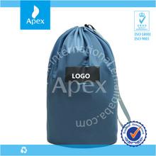 round bottom drawstring waterproof nylon bag