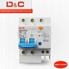 [D&C] shanghai delixi c45 earth leakage circuit breaker