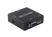 s-video vga rca to hdmi converter 1080P