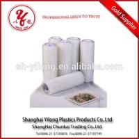 Accept custom order plastic film bale wrap plastic for food
