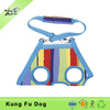 Colorful stripe Multifunctional Dog Harness Pet Clothes Pet Carrier Bags
