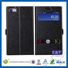 C&T Fashion cheap customized flip leather case cover for xiaomi mi3