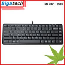 Latest Mini Wired chocolate laptop keyboard usb