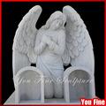 la gravure en marbre et la pierre tombale pierre tombale ange blanc