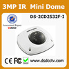 DS-2CD2532F-IS hikvision mini digital camera 1080p cctv dome camera with sd card