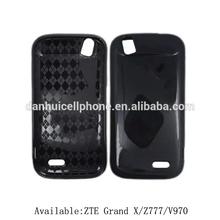 TPU case for ZTE Grand X Z777, soft case for zte grand x, gel skin for v970