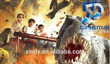 dinosaurs skeleton movie simulator roller coaster 7d interactive cinema with guns 9d cinema 5d cinema children's games