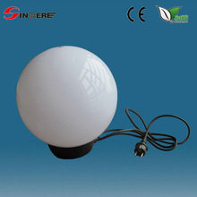 outdoor lighting uvioresistant acrylic outdoor Colour changing led sphere light
