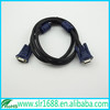 1080P DB 15 Pin D-Sub VGA Cable with Ferrite for Monitor
