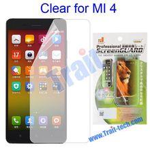 Hot Sales Clear LCD Screen Protector Guard Film for Miui XiaoMi 4 Mi4