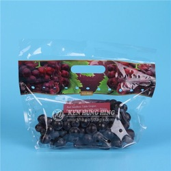High Quality FDA Approved Zip Lock Plastic Fruit Bags Bespoke Packaging