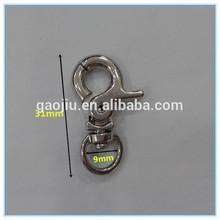 Durable handbag buckles clasps snap hook