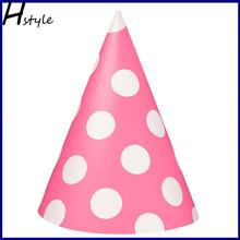 Polka Dot Party Hats (Pink) SB006