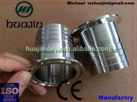 sanitary stainless steel tri clamp hose adaptor ferrule