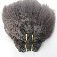 2014 alibaba best selling malaysian virgin unprocessed kinky straight human afro kinky hair
