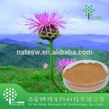 Natural 100% Rhaponticum Carthamoides Extract 20-hydroxyecdysone powder 95%