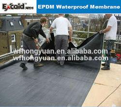epdm membrane price/black seal waterproofing rubber/expanding rubber waterstop