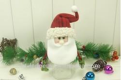 Plastic Christmas Candy Jar