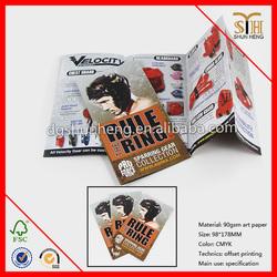 CMKY 4 Color Folder Flyer High Quality Cheaper Price