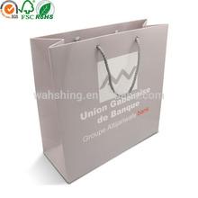 Fancy paper bag with logo print gift bag paper shopping bag for promotion