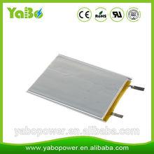 3.7v 1166121 10000mAh lithium polymer battery