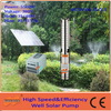 5.5KW deep well DC and AC powered with brushless high speed motor unattended operation Solar Water Pump for irrigation