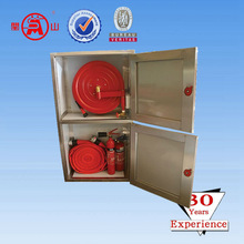 Fire hose cabinet with alarm bell,fire fighting cabinet