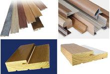 wood veneer cover triangular wood moulding