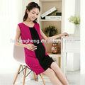 Gros vin dressing Canada personnalisé conception robe 100% coton de maternité vêtements BK131