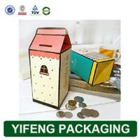 Custom Printing Handmade Eco-friendly Paper Coin Safe Box