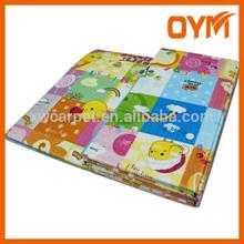 China hot sale foldable digital printed parklon baby mat