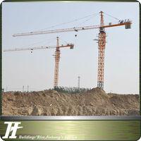 China high quality QTZ63(5010) fix tower cranes