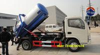 DFAC 4*2 driven septic tank truck vacuum truck septic pump truck