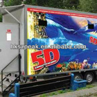 2014 newest 5D 6D 7D 9D mobile cinema hydraulic system