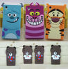 New Cute 3D Cartoon Design Soft Rubber Case Cover For Sony Z1 L39H