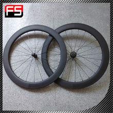 fashional steel Fixed gear bike aerospoke carbon road bike wheel