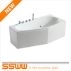 smart EN flat apron acrylic bathtub