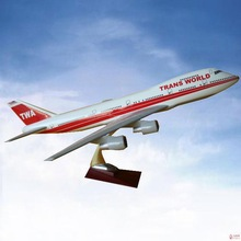 CUSTOMIZED LOGO RESIN MATERIAL hight quality passenger plane models helicopter mo