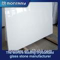 de color blanco puro losa de mármol artificial precio para el hogar decoración de la pared