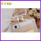 Mobile Phone case Manufacturer Shoulder Strap Stripe perfume bottle case for Iphone 5 /5S