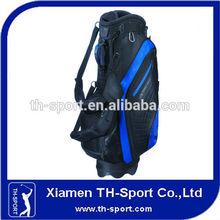 luxury pu leather custom golf caddy bag