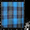 The annual ortput printed flannel grid fabrics