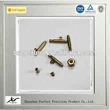 Sales non-standard super precise small brass parts for America HAAS cnc lathe machining