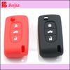 Various colors silicone key cover brand car logo key case