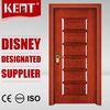 KENT Doors Embossed Board Solid Teak Wood Door Price For Room
